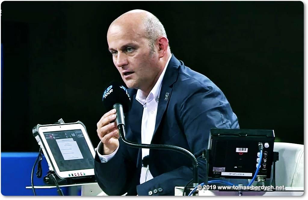 Итальянского арбитра отстранили от работы в ATP на время расследования