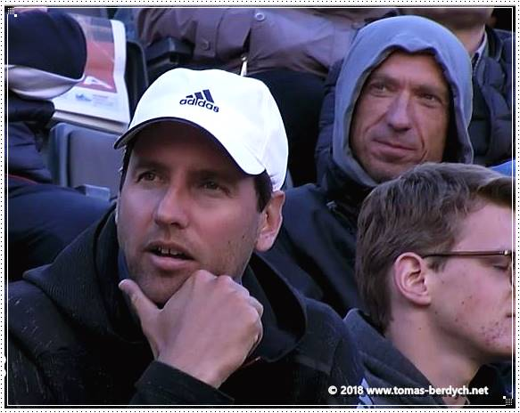 Martin Stepanek, coach of Tomas Berdych